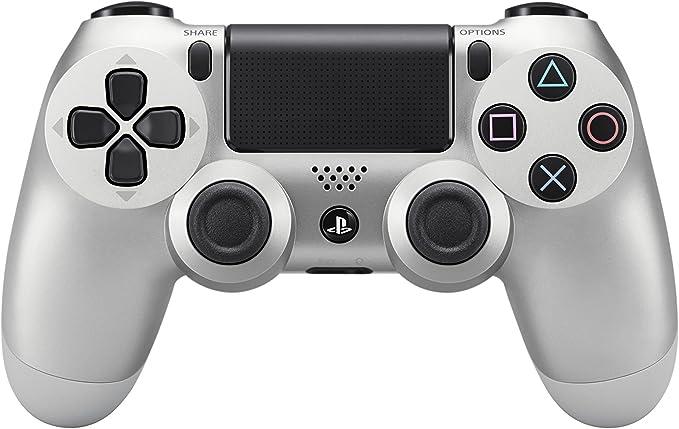 Sony - Mando DualShock 4, Color Plata (PlayStation 4) #5340 ...