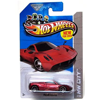 Buy Hot Wheels 2013 Hw City Pagani Huayra 8 250 Online At Low Prices