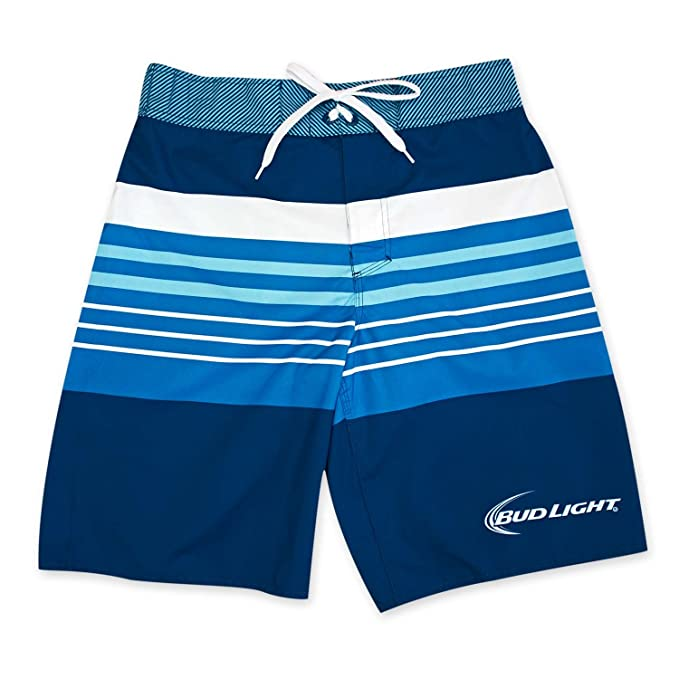 0cff1d1a242be Amazon.com: Bud Light Surfer Rugby Board Shorts (S): Clothing