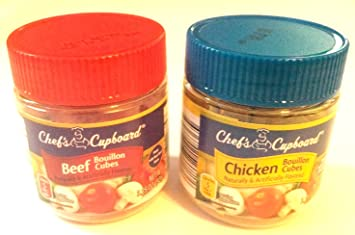 Chefs Cupboard Beef Bouillon and Chicken Bouillon Combo Pack