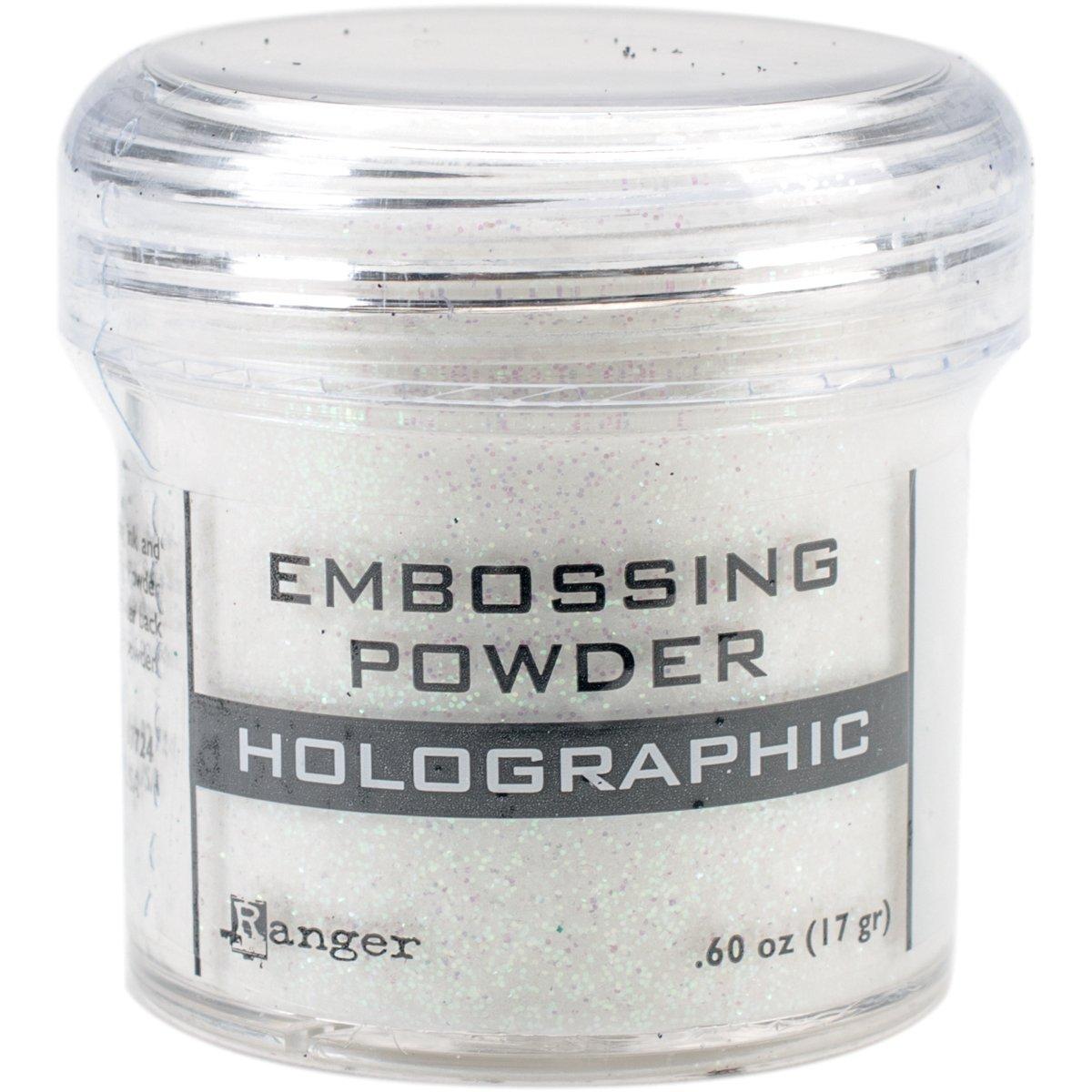 Ranger EPJ00-709 Embossing Powder .60oz, Holographic by Ranger (Image #1)