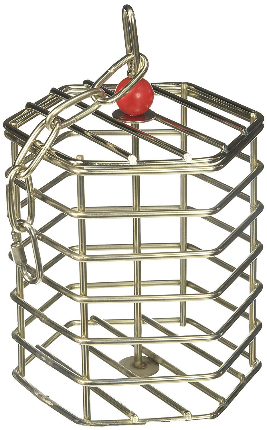 Caitec Stainless Steel Baffle Cage Large 6 x 6in ''Sale Caitec Bird Toys - Foraging Toys'' by Caitec Corp