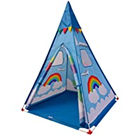Deals on NARMAY Teepee Tent Blue Fantasia Play Tent