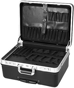 oplon Herramientas vacía/de ABS y carcasa de PC, marco de aluminio caja de herramientas resistente