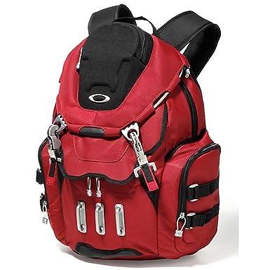 Amazon Com Oakley Men S Bathroom Sink Backpack Dark Red