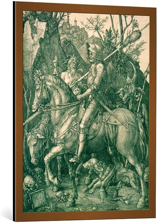 Albrecht Durer Reproduction: Knight 1513 Fine Art Print Death and the Devil