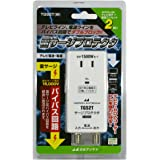 日本アンテナ 電源ライン・同軸ライン 雷サージプロテクタ TGS2T(W)