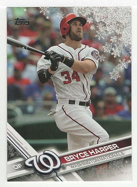 Amazoncom Bryce Harper Baseball Card 2017 Topps Walmart Holiday