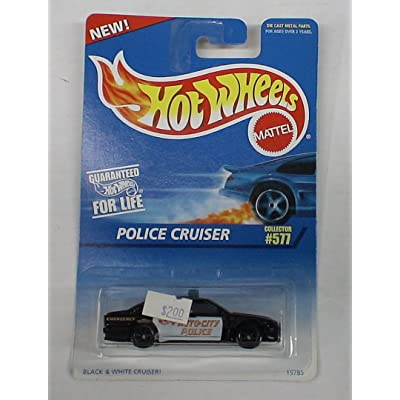 Hot Wheels Police Cruiser #577: Toys & Games