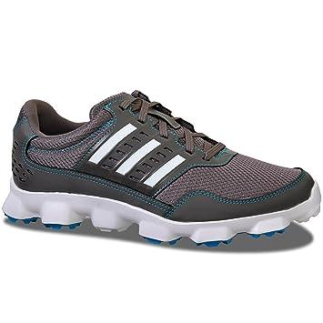 2015 Adidas Crossflex Sport Mens Spikeless Golf Shoes Iron/White 7.5UK