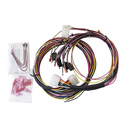 amazon com auto meter 2198 universal gauge wire harness for tach rh amazon com wiring autometer gauges together