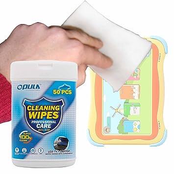 DURAGADGET Toallitas Especiales para Limpiar La Pantalla De Tablet Infantil YUNTAB Q91