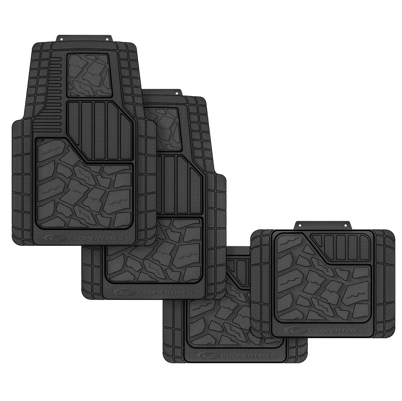 Cooper Tires Discoverer STT Pro All-Weather Rubber Floor Mats
