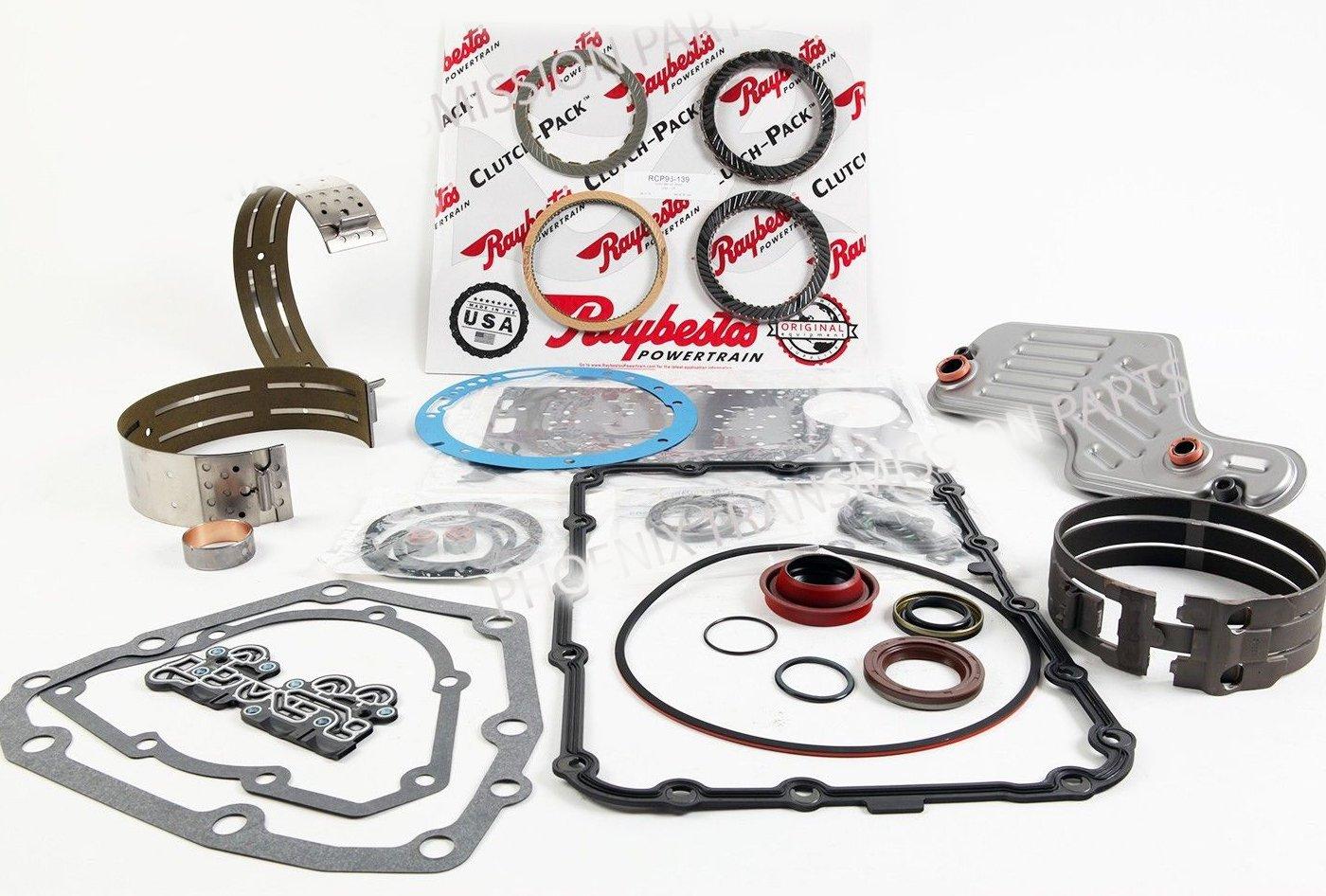 Ford 5R55W 5R55S Transmission Rebuild Kit 2002-2008 Raybestos Toledo Trans Kit