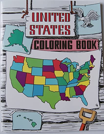 Amazon.com: United States Coloring Book: A. Daniel Zook: Toys & Games