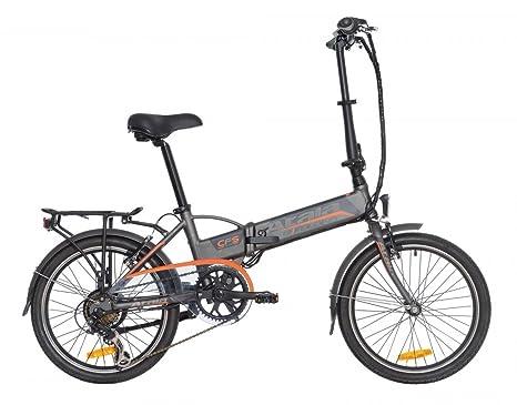 Bicicletta Pieghevole Kawasaki Folding Bike Alluminio.Atala Bici Elettrica Pieghevole Folding 6 Velocita Colore
