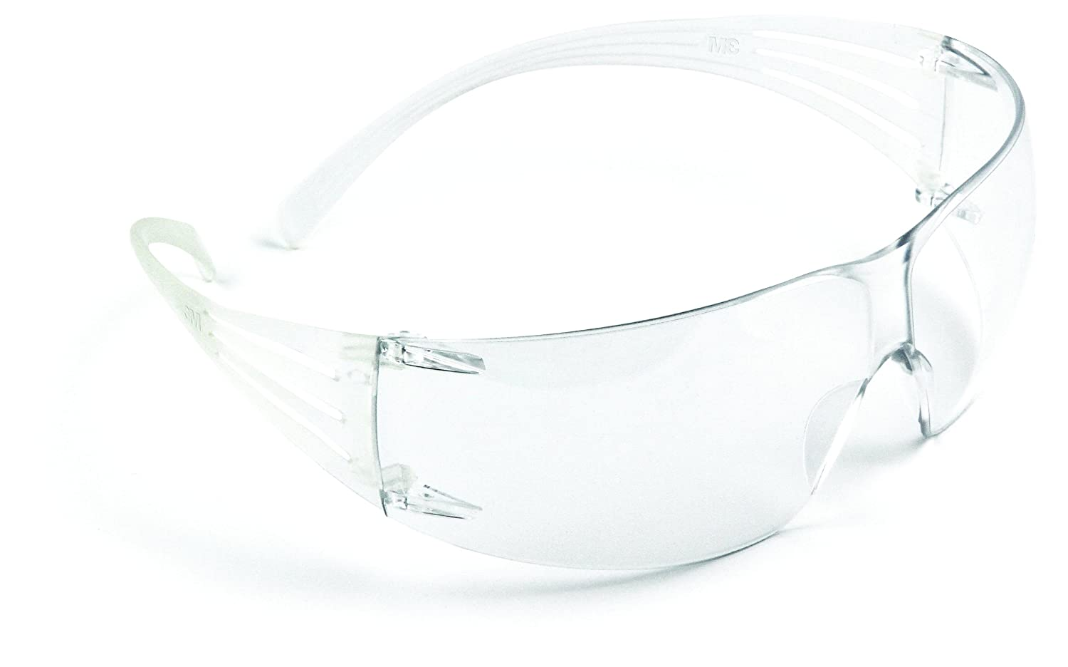 3M Personal Protective Equipment SecureFit Protective Eyewear SF201AS, Clear Lens, Anti Scratch Coating