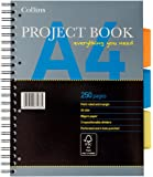 Collins 64PBED Essential A4 New Range Project Book, 250 Pages