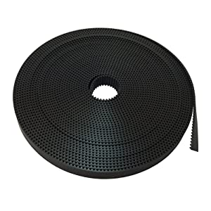 BEMONOC Pack of 10Meters HTD 3M Open Ended PU Timing Belt Width 15mm for CNC Laser Engraving Machines