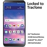 TracFone - Teléfono inteligente de prepago para LG Stylo 4 4G LTE, Sólo dispositivo, Negro