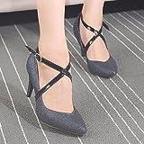 SOURBAN High Heeled Shoelaces Shoe Buckles PU