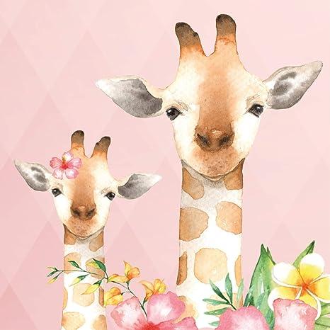 Anna Wand Bord/üre selbstklebend Friendly Forest Wandbord/üre Kinderzimmer//Babyzimmer mit mehrfarbigen Waldtieren auf Mint Wanddeko Baby//Kinder Wandtattoo Schlafzimmer M/ädchen /& Junge