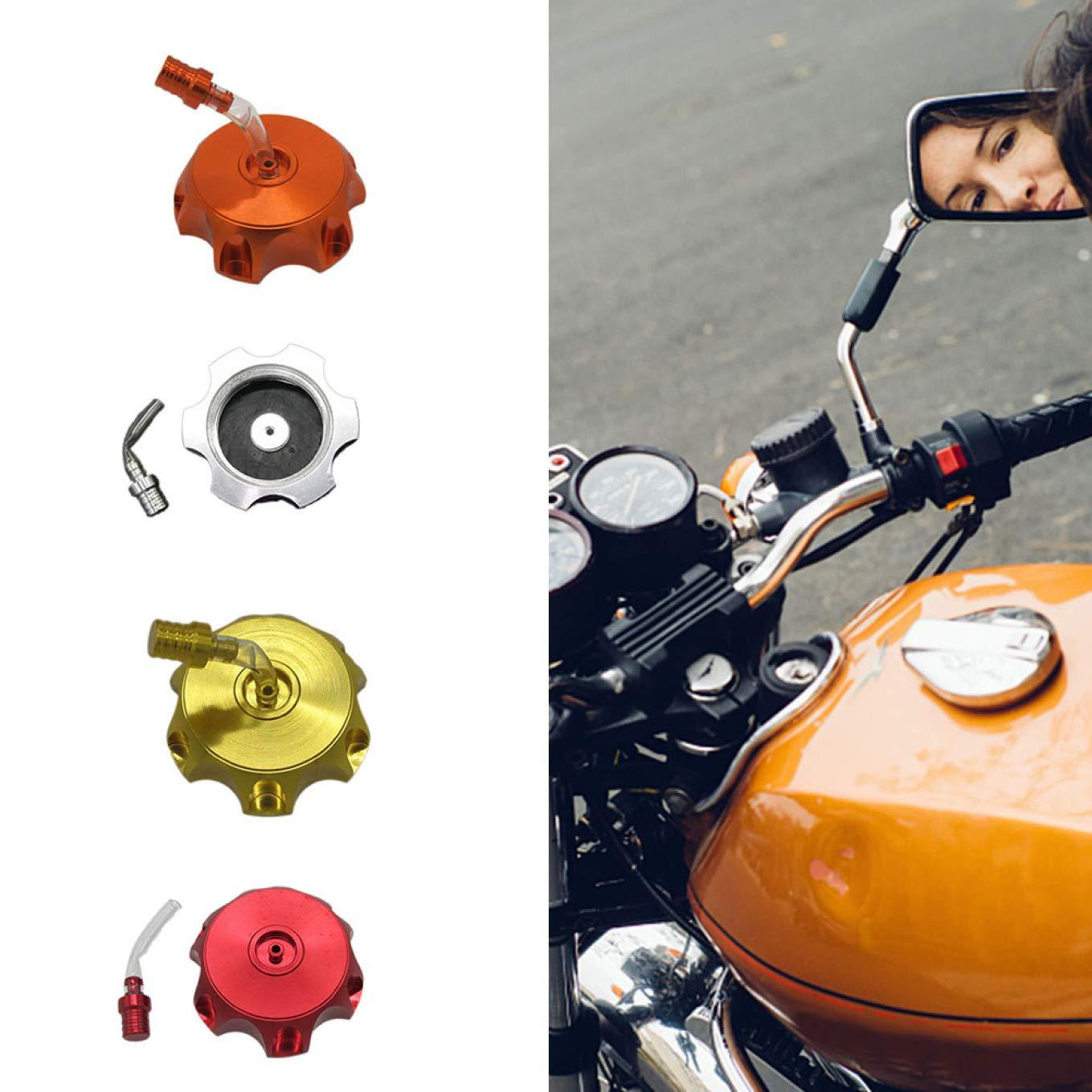 yuehuxin Bouchon de r/éservoir de Carburant en Aluminium pour Moto Pit Dirt Pit Bike Motocross Ttr125 Ttr125cc pour d/écoration de la Maison