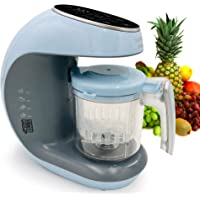 Baby Food Maker Chopper Grinder - Mills and Steamer 7 in 1 Processor - Steam, Blend, Chop, Disinfect, Clean, 20 Oz…