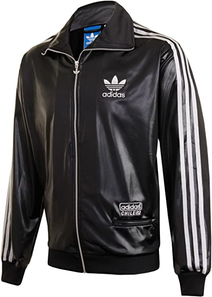adidas Herren Originals Chile 62 TT Schwarz Trainingsjacke