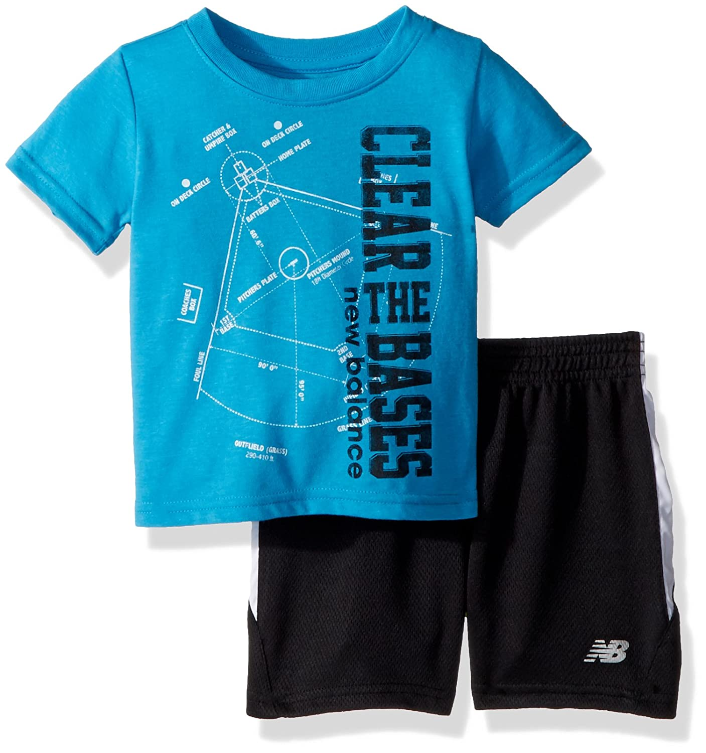 New Balance Boys' Athletic Tee and Short Set 12509