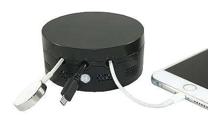 """Cable Buddy """"Glow Cargador Cable Soporte con sensor de movimiento luz nocturna"""