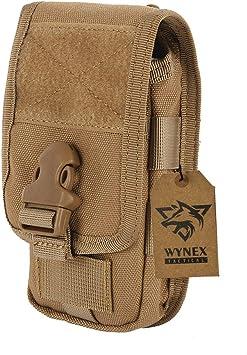 WYNEX Funda para teléfono móvil, táctica, para Smartphone, EDC, Funda para teléfono móvil,Accesorio para cinturón, Compatible con la mayoría de teléfonos: Amazon.es: Electrónica