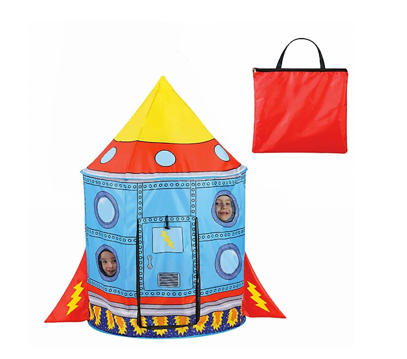 sc 1 st  Amazon.com & Amazon.com: Liteaid Rocket Ship Tent: Toys u0026 Games