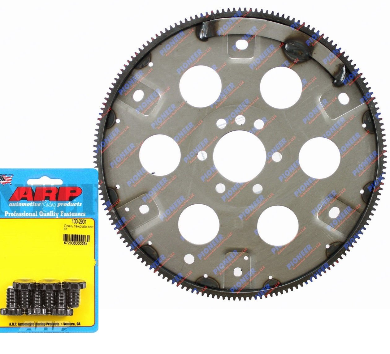 PIONEER Auto Trans 168 tooth Flexplate/Flywheel & New BOLTS for Chevy BB 454 70-76 EXT