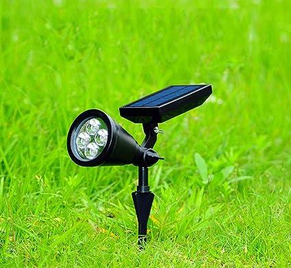 Amazon.com: ATR - Foco solar para jardín, impermeable ...