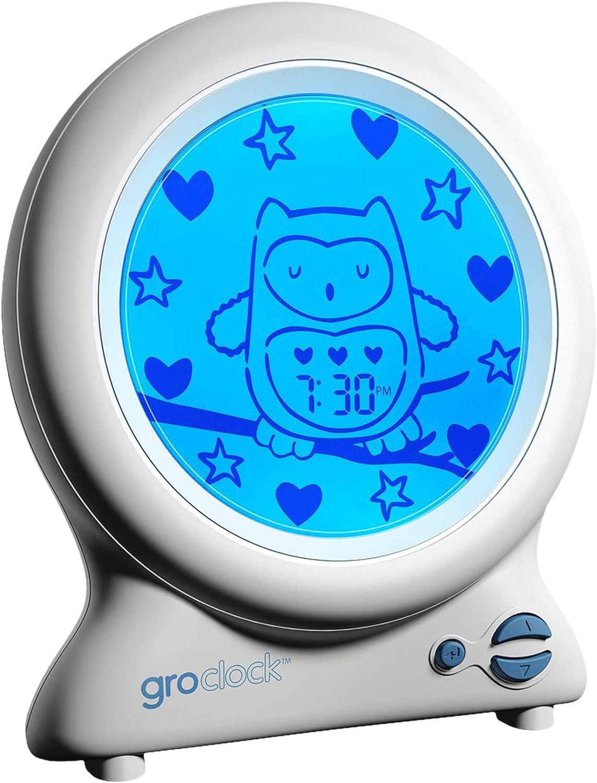 The Gro Company Gro Clock Réveil veilleuse: : Bébés