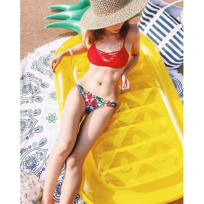 Amazon.com: LUSTAR® Inflatable Pineapple Pool Float Outdoor Swimming Pool Party Giant Pineapple Raft Pool Swimming Ring Water Float Seat For Adult And Kids: ...