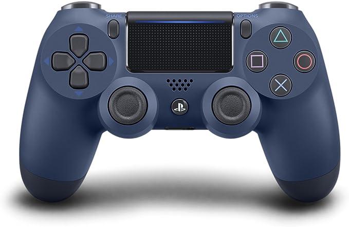 Sony DualShock 4 Gamepad PlayStation 4 Azul - Volante/mando (Gamepad, PlayStation 4, Analógico/Digital, D-pad, Hogar, Seleccionar, Share, Inicio, Azul, Alámbrico/Inalámbrico): Amazon.es: Videojuegos