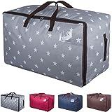 DOKEHOM DKA1011GY gros sac d'entreposage, le tissu des vêtements sac épais taille sous le lit - stockage, humidité la preuve (gris)