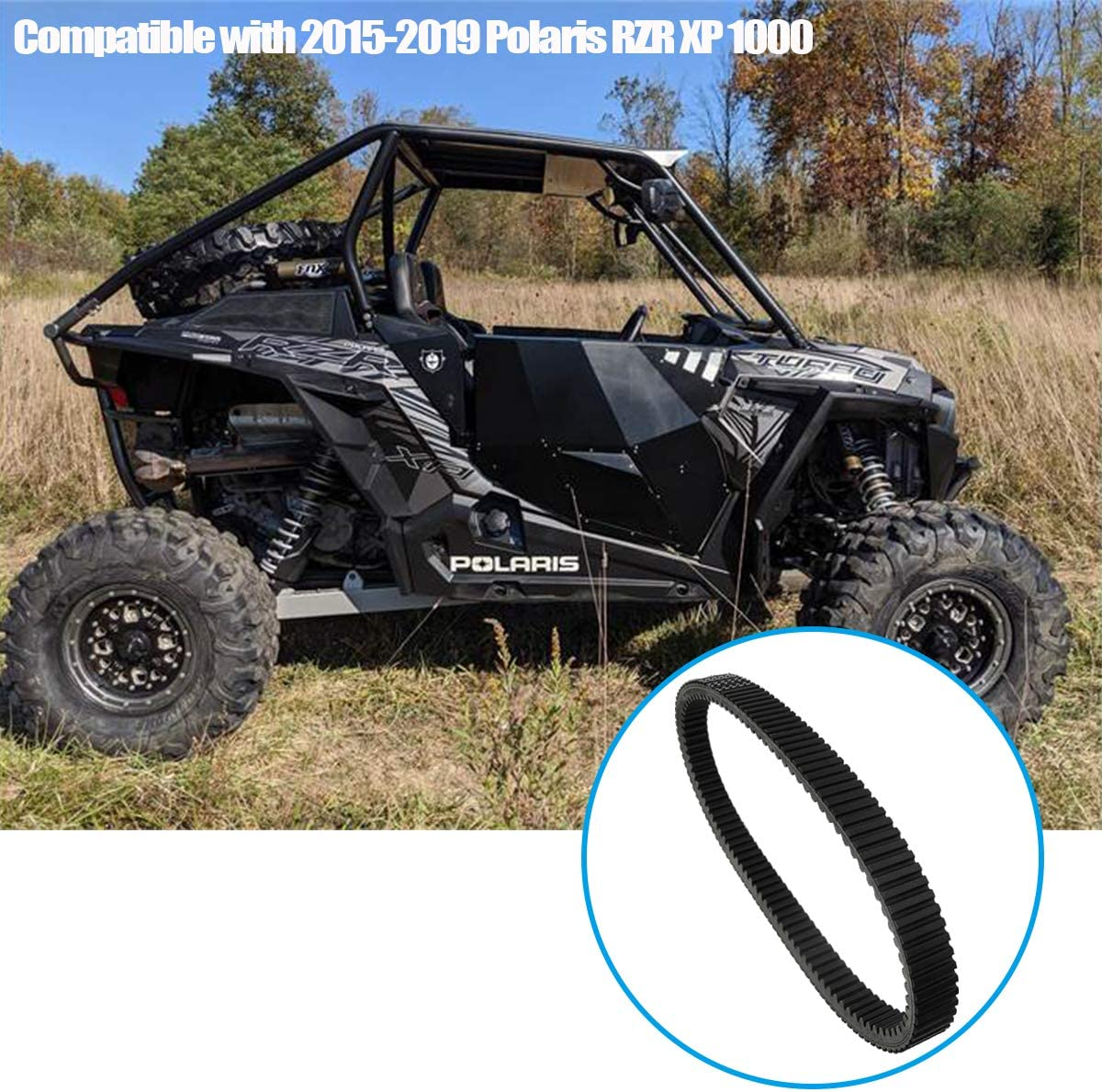 Gekufa 3211180 Drive Belt Compatible with 2015-2019 Polaris RZR XP 1000