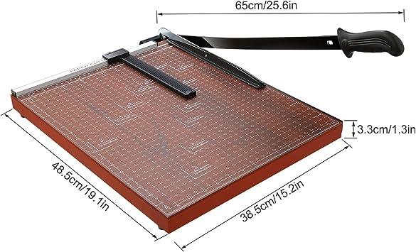 Lichire - Cortador de papel (325 mm, 12 hojas, A4, para cupones ...