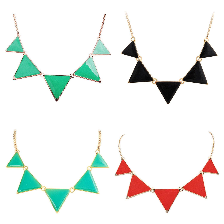 Triangle Fashion Necklaces $3.