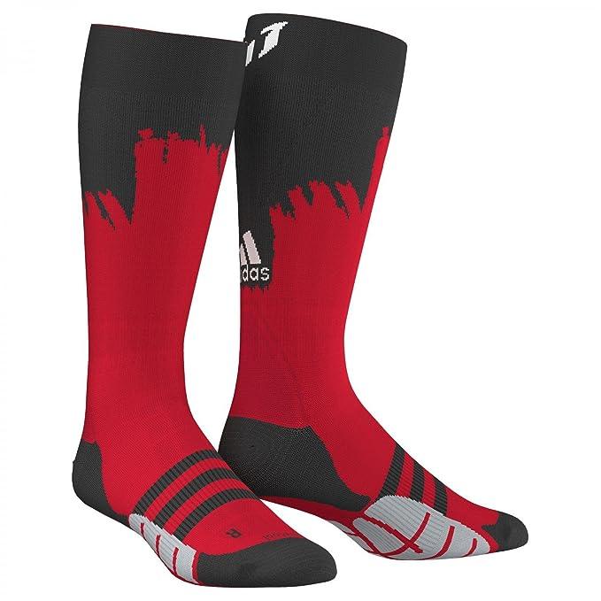adidas Calcetines Fútbol Messi hombre 40/42 Rojo Y Negro 43: Amazon.es: Ropa y accesorios