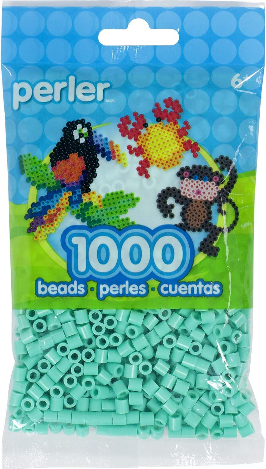 Perler Beads 1,000 Count-Light Green