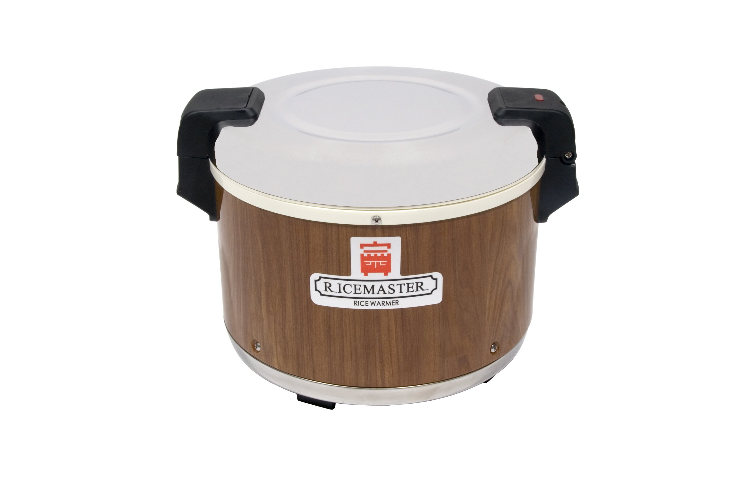 RiceMaster 18 Qt. Rice Warmer With Woodgrain Exterior - 120V
