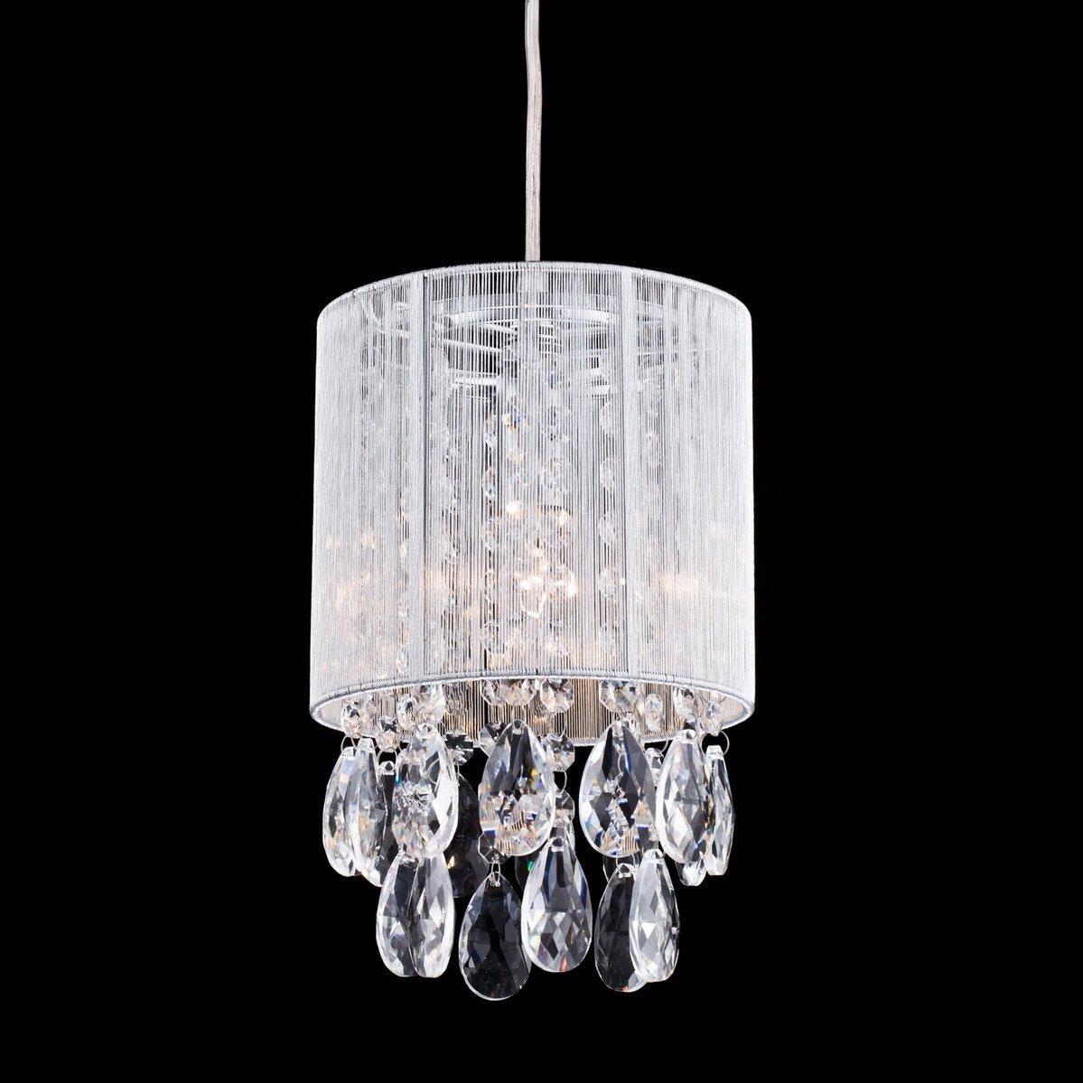 Dazhuan Modern Crystal Drops Pendant Ceiling Lighting Chandelier Lamp Hanging Light