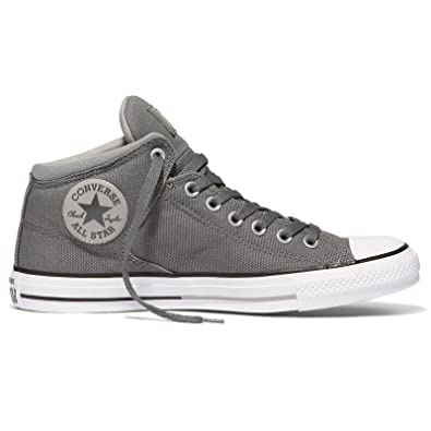 CONVERSE MENS ALL STAR HIGH STREET SHOES THUNDER DOLPHIN WHITE SIZE 3
