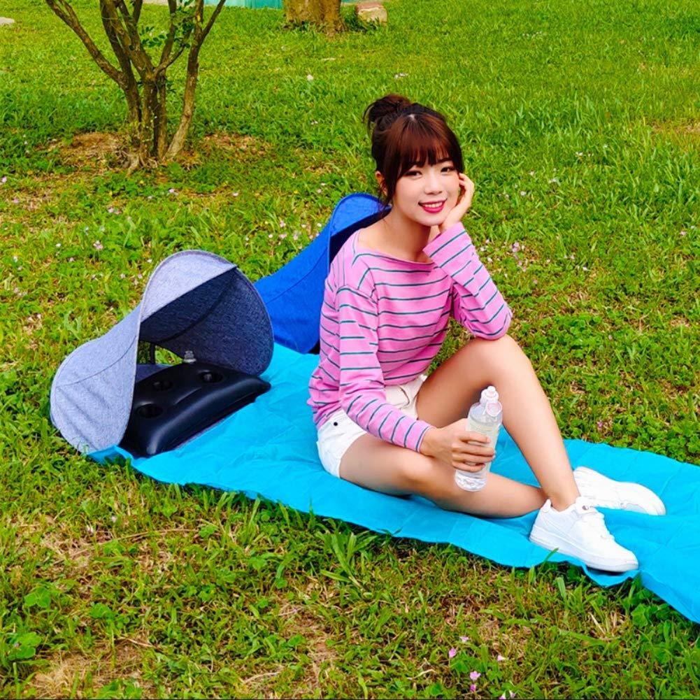 Leichter faltender UVschutz-Sonnenschutz mit Luftkissen Yalatan Sommer-Strand-Gesichts-Zelt-Regenschirme im Freien tragbares kleines Markisen-pers/önliches Zelt