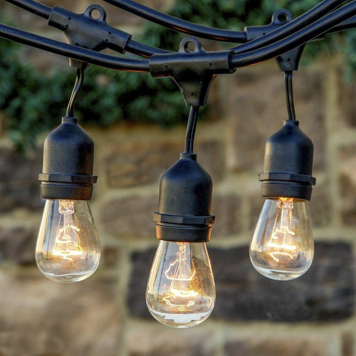 Amazoncom String Lights 33 ft Waterproof Indoor Outdoor