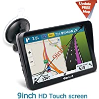 $75 » 9inch HD Vinone GPS Navigation for car/Truck Capacitive Big Touchscreen, [2019 Upgraded…